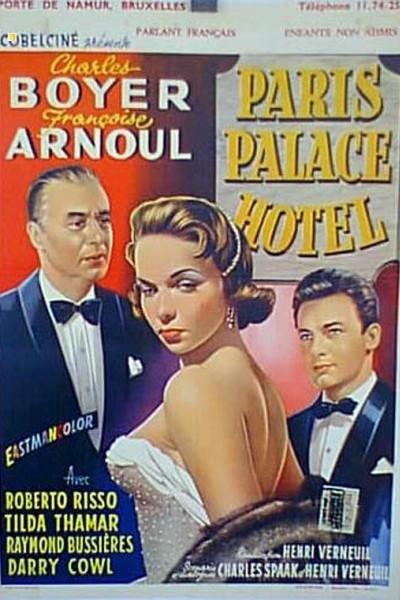 Caratula, cartel, poster o portada de París Palace Hotel