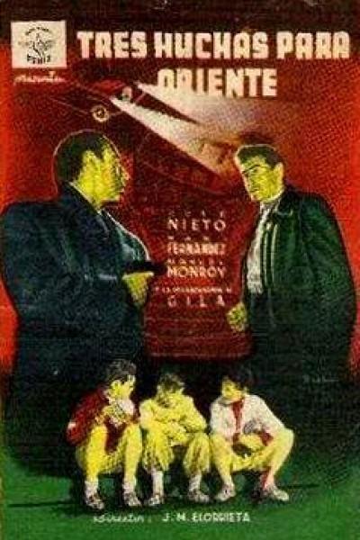 Caratula, cartel, poster o portada de Tres huchas para Oriente