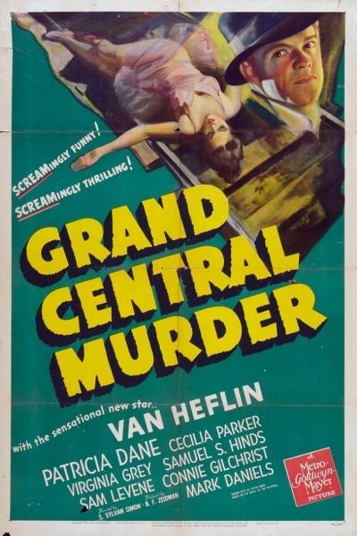 Caratula, cartel, poster o portada de Grand Central Murder