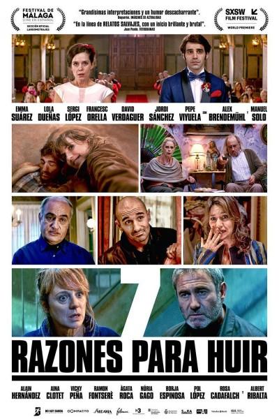 Caratula, cartel, poster o portada de 7 razones para huir