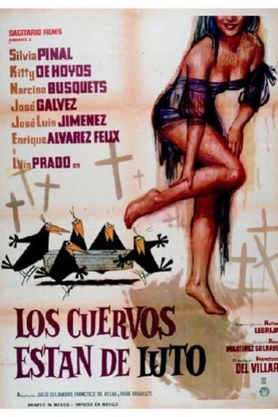 Caratula, cartel, poster o portada de Los cuervos están de luto