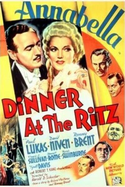 Caratula, cartel, poster o portada de Cena en el Ritz