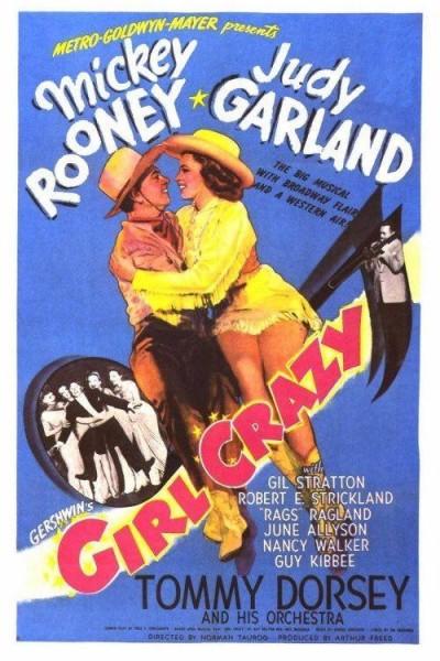 Caratula, cartel, poster o portada de Girl Crazy