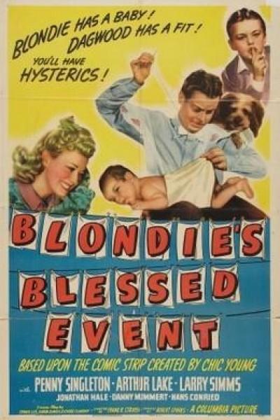 Caratula, cartel, poster o portada de Blondie\'s Blessed Event