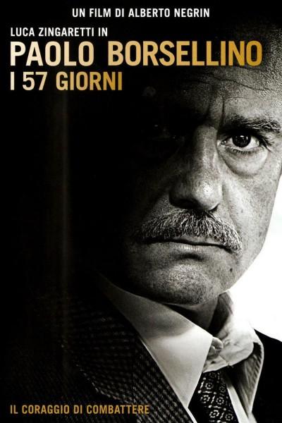 Caratula, cartel, poster o portada de Paolo Borsellino - I 57 giorni