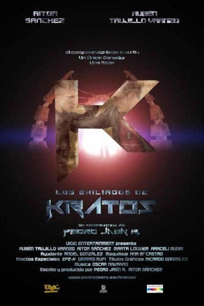 Caratula, cartel, poster o portada de Los exiliados de Kratos