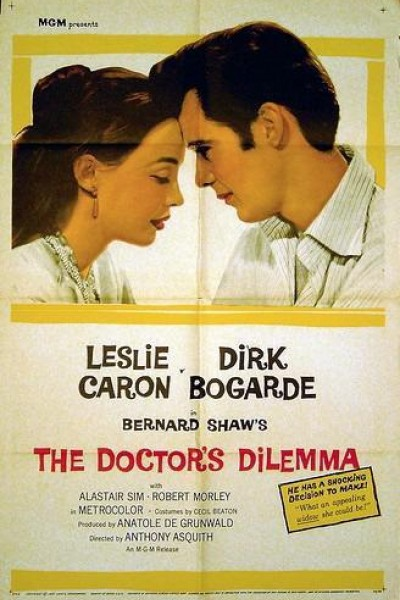 Caratula, cartel, poster o portada de The Doctor\'s Dilemma