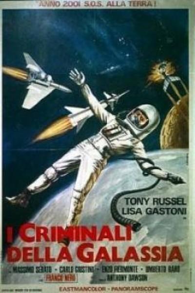 Caratula, cartel, poster o portada de I criminali della galassia