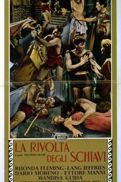 Caratula, cartel, poster o portada de La rebelión de los esclavos