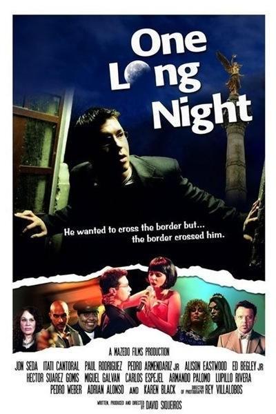 Caratula, cartel, poster o portada de Una larga noche