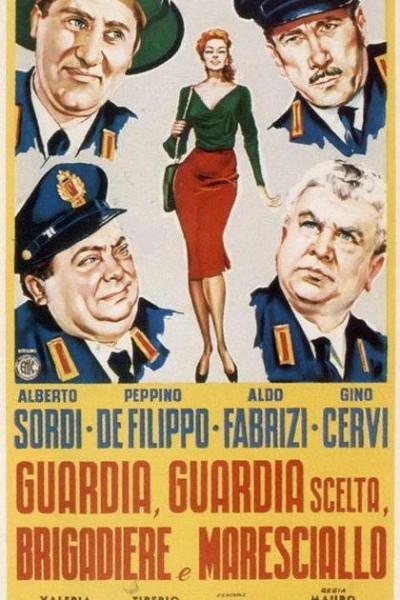 Caratula, cartel, poster o portada de Guardias de Roma