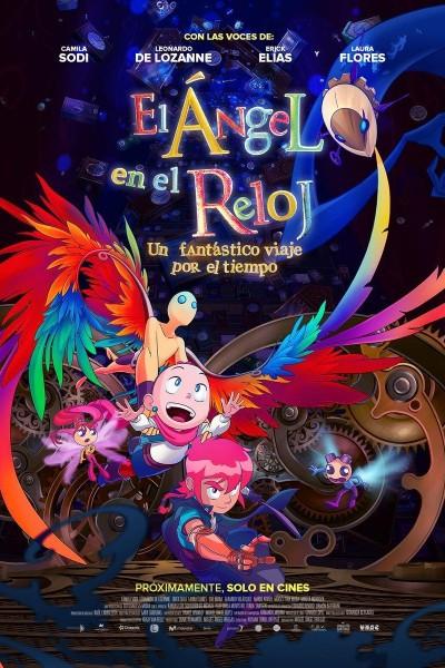 Caratula, cartel, poster o portada de El ángel en el reloj