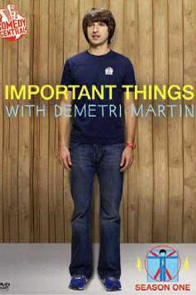 Caratula, cartel, poster o portada de Important Things with Demetri Martin