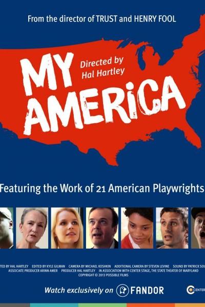 Caratula, cartel, poster o portada de My America