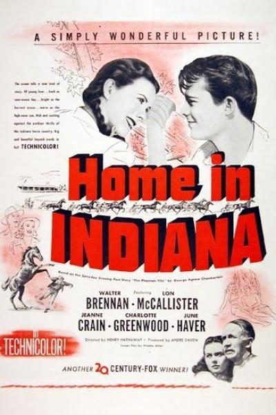 Caratula, cartel, poster o portada de Nuestra casa en Indiana