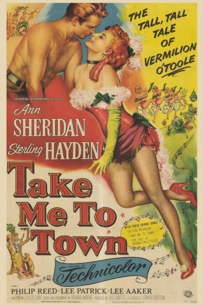 Caratula, cartel, poster o portada de Take Me to Town