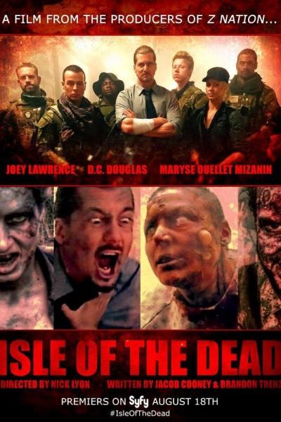 Caratula, cartel, poster o portada de La isla de los muertos