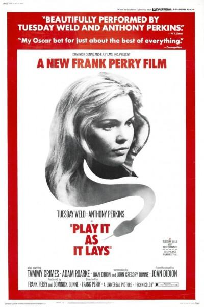 Caratula, cartel, poster o portada de Play It As It Lays