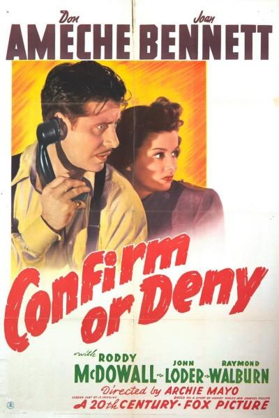 Caratula, cartel, poster o portada de Confirm or Deny