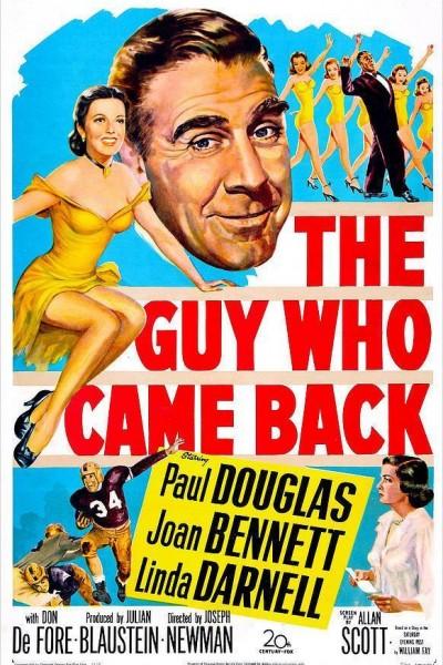 Caratula, cartel, poster o portada de The Guy Who Came Back