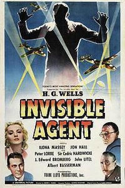 Caratula, cartel, poster o portada de El espía invisible