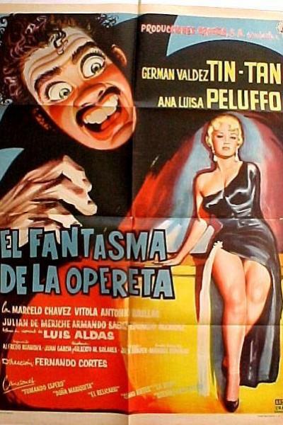 Caratula, cartel, poster o portada de El fantasma de la opereta