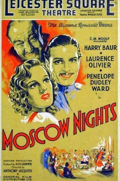 Caratula, cartel, poster o portada de Noches de Moscú