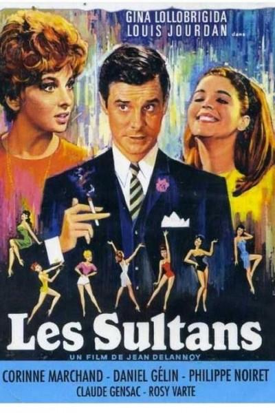 Caratula, cartel, poster o portada de Los sultanes