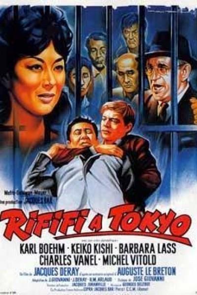 Caratula, cartel, poster o portada de Rififi en Tokyo