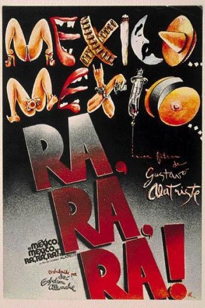 Caratula, cartel, poster o portada de México, México, ra ra ra