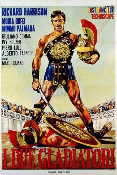 Caratula, cartel, poster o portada de Dos gladiadores