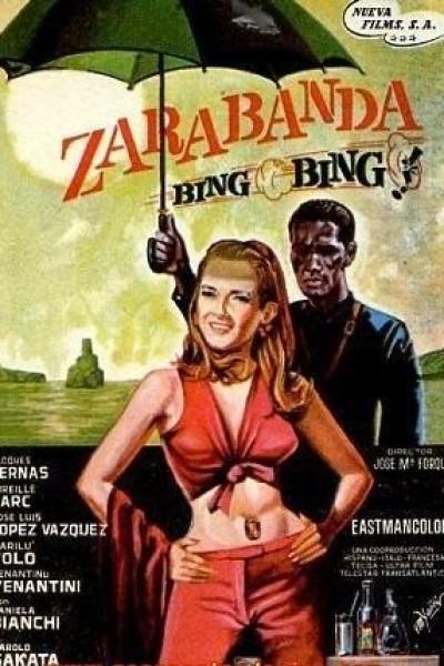 Caratula, cartel, poster o portada de Zarabanda, bing, bing