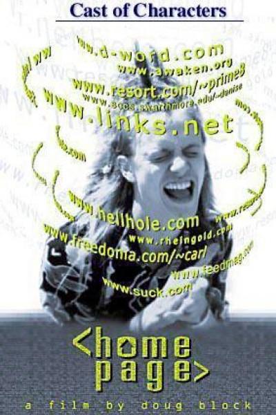Caratula, cartel, poster o portada de Home Page