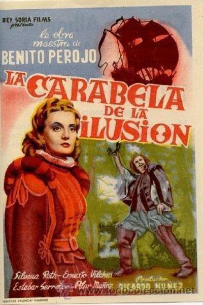 Caratula, cartel, poster o portada de La carabela de la ilusión