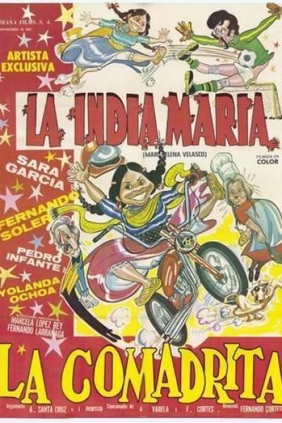 Caratula, cartel, poster o portada de La comadrita