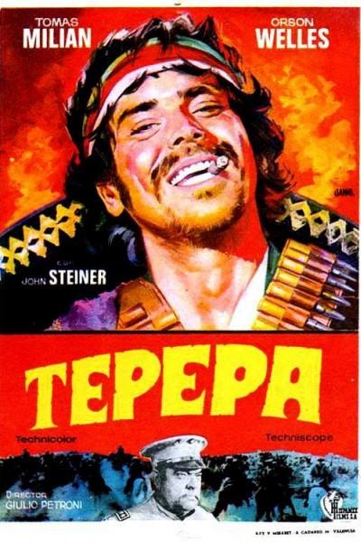 Caratula, cartel, poster o portada de Tepepa: Viva la revolución