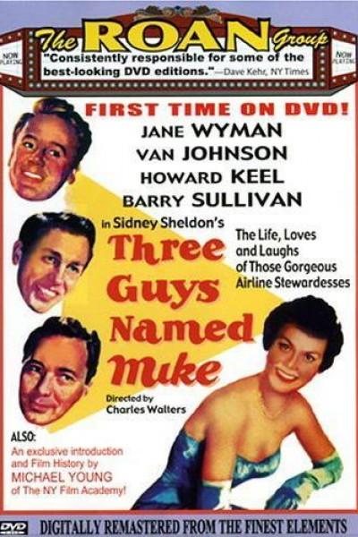 Caratula, cartel, poster o portada de Tres hombres llamados Mike