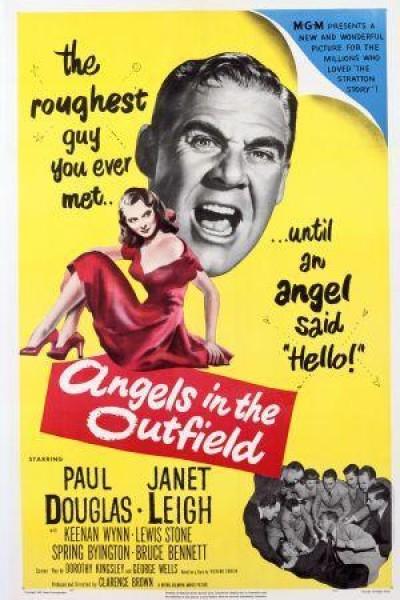 Caratula, cartel, poster o portada de Angels in the Outfield