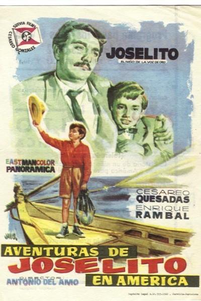 Caratula, cartel, poster o portada de Aventuras de Joselito en América