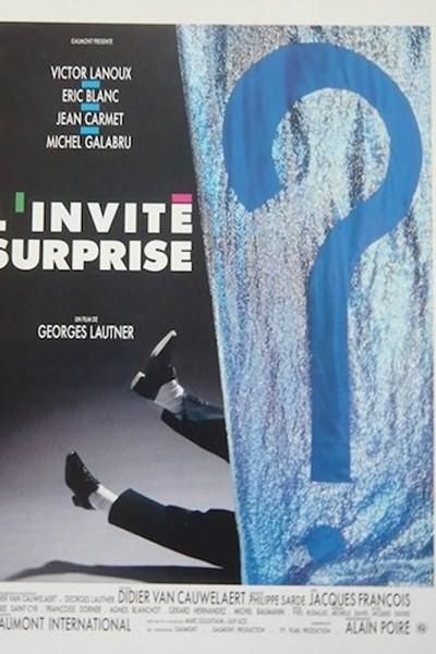 Caratula, cartel, poster o portada de L\'invité surprise