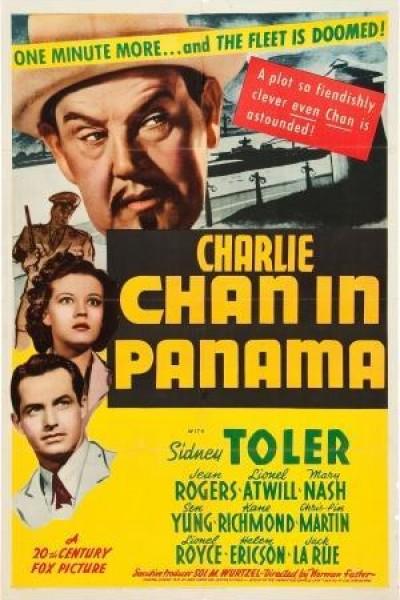Caratula, cartel, poster o portada de Charlie Chan en Panamá