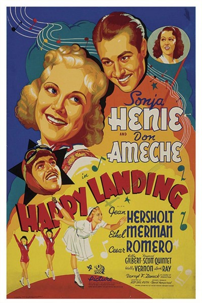 Caratula, cartel, poster o portada de Happy Landing