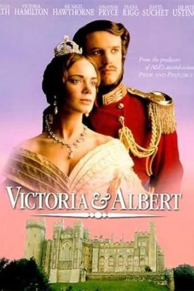 Caratula, cartel, poster o portada de Victoria y Alberto