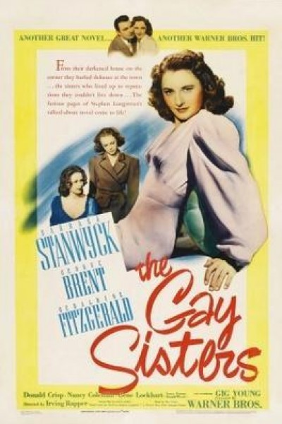 Caratula, cartel, poster o portada de The Gay Sisters