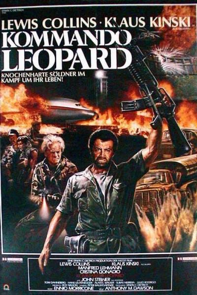 Caratula, cartel, poster o portada de Comando Leopardo