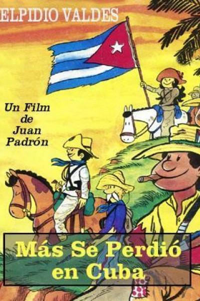 Caratula, cartel, poster o portada de Más se perdió en Cuba