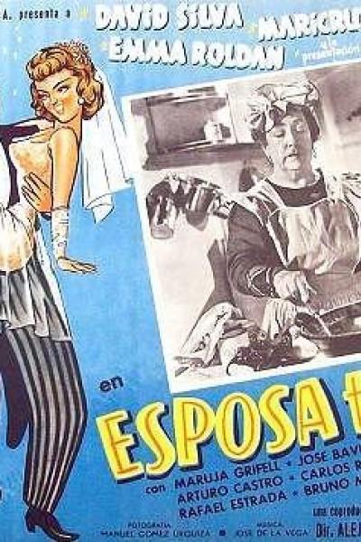 Caratula, cartel, poster o portada de Esposa te doy