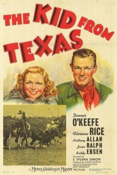 Caratula, cartel, poster o portada de The Kid from Texas