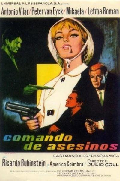 Caratula, cartel, poster o portada de Comando de asesinos
