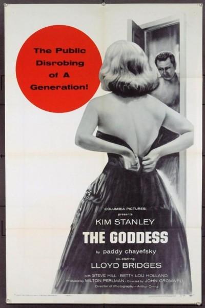 Caratula, cartel, poster o portada de La diosa